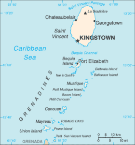 carte des grenadines