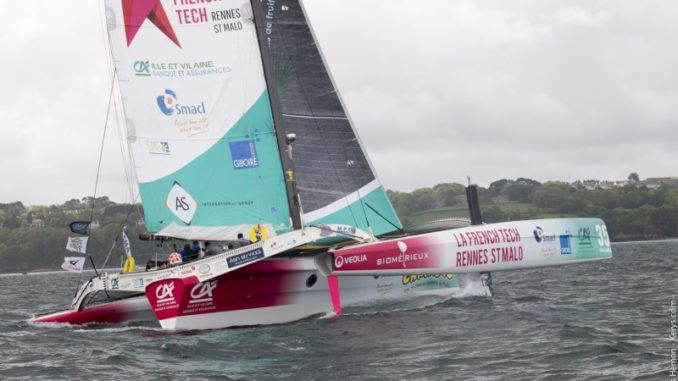 trimaran multi50 french tech