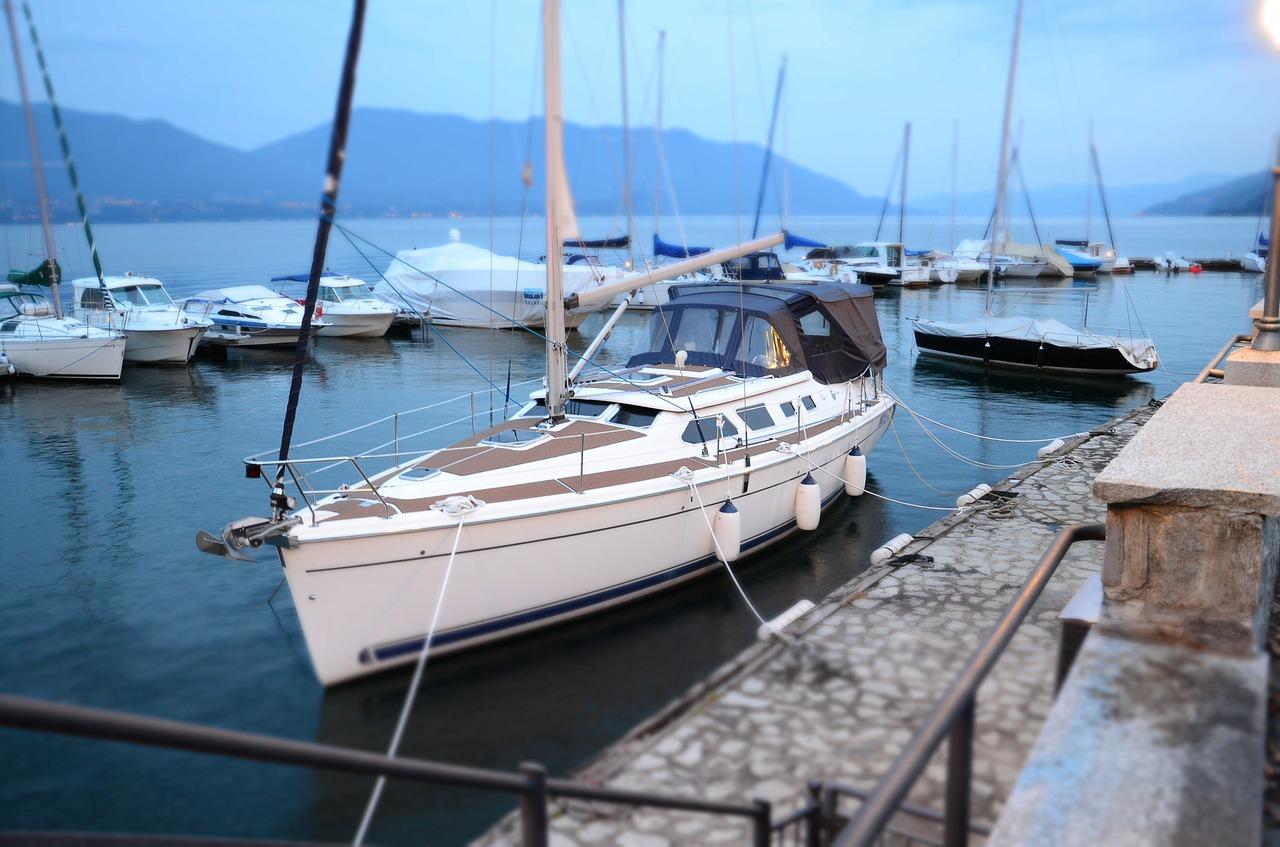 voilier au port
