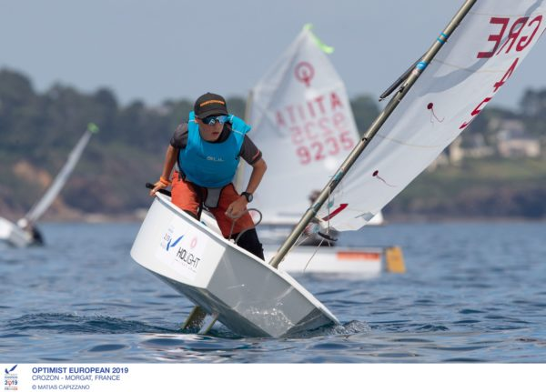 championnat d'Europe Optimist