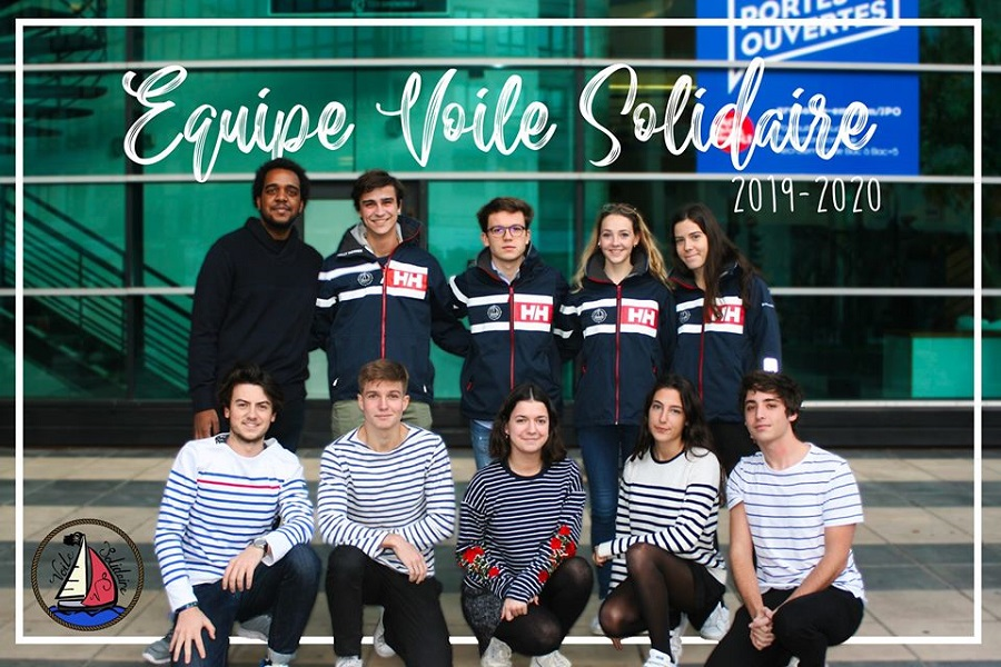 equipe voile Solidaire